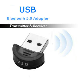 USB5.0 Bluetooth Adapter Wireless Dongle High Speed for PC Windows Computer Mini
