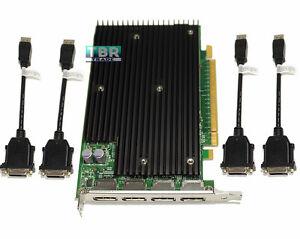 Nvidia-Quadro-NVS-450-512mb-PCI-e-DisplayPort-Video-Graphics-Card-4-monitor