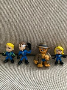Fantastic Four Bobble-Head Mystery Minis Vinyl Figures Invisible Woman 1//6