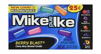 Mike And Ike Berry Blast (1 Box Of 24 - .78oz Individual Packs) Free Shipping