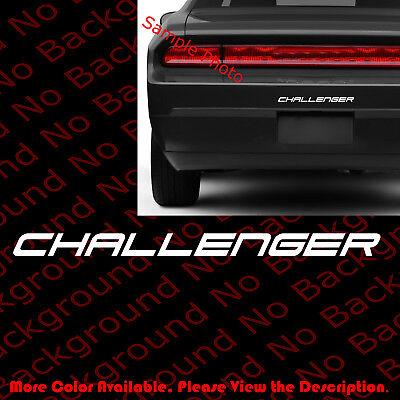 Challenger Vinyl Decal Car Window//Bumper Sticker for Dodge SRT Hell Cat RC089