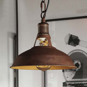 Details about Copper Pendant Light Fixture Antique Industrial Metal Hanging  Kitchen Lamp Barn