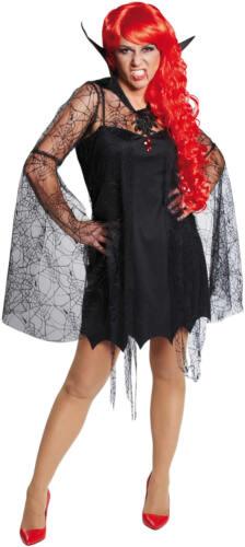 Vampir Lady Vampirin Horror Halloween Karneval Fasching Kostüm 34-46