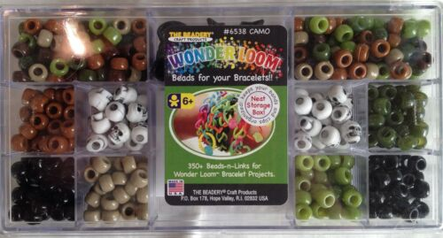 WonderLoom Beads Camo Beads-n-Links 6538 Wonder Loom