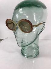 "NOS Vintage Ladies Sunglasses Eyeglasses Frame Riviera ""ADINA"" Peach 54-20"