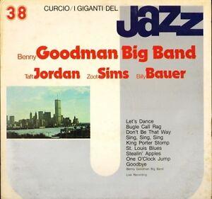 BENNY-GOODMAN-TAFT-JORDAN-ZOOT-SIMS-BILLY-BAUER-i-giganti-del-jazz-LP-PS-EX-VG