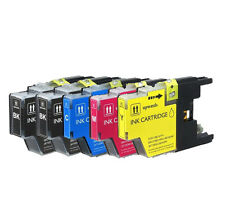 5 Pack LC75 LC71 Set Ink Cartridges for Brother MFC-J435W MFC-J625DW MFC-J825DW