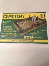 Big City Hobbies O Gauge Scale Cemetery Scene 1:48 Scale #8525 BCH International