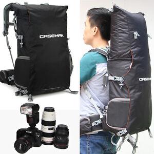 Image is loading Caseman-AOB2-Black-Transformer-DSLR-Camera-backpack-bag-
