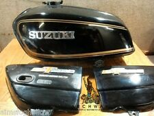 1974 Suzuki GT550 Fuel Gas Petro Tank and Side covers 47110-34611 47110-34100,