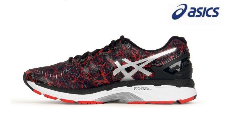 Asics Men's Gel Kayano23 Vermilion-BlackSilver Running shoes,Sneakers T6A0N-2390