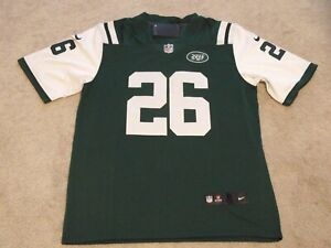 on sale e59a2 d2117 Details about New York Jets Le'Veon Bell Jersey #26 Green New With Tags