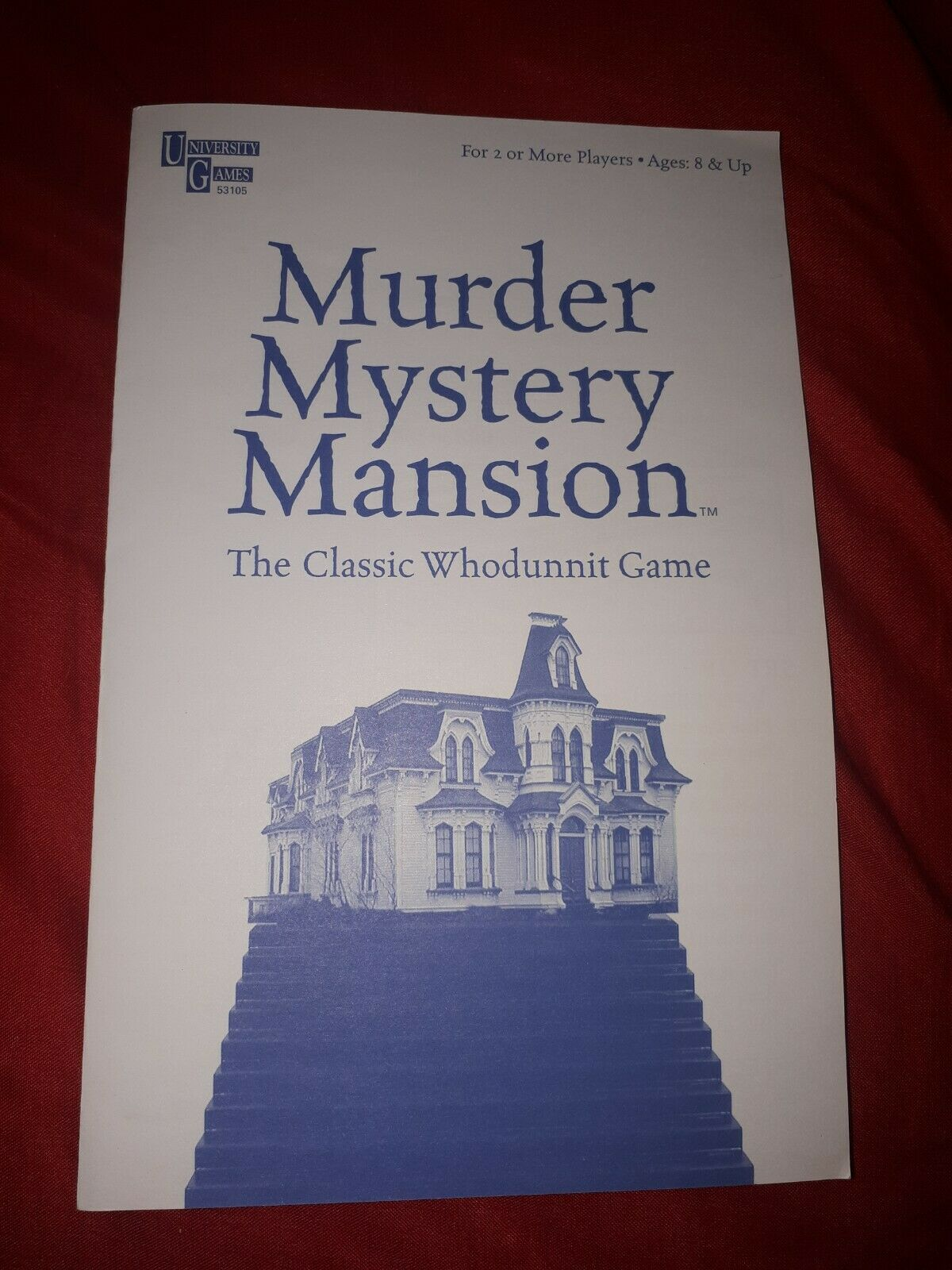 Murder Mystery Mansion Board Game Replacement Pieces Parts Rules Instructions Ya Ebay