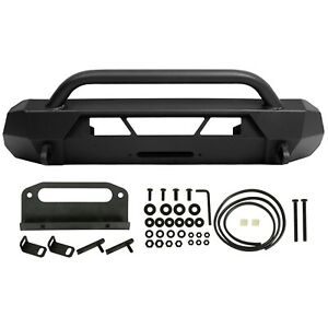 Front Bumper Guard Bull Bar For Toyota Tacoma 2016-2021 Steel Powder Coated