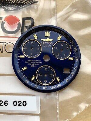 Nos Sector Sge 600 Dial 200 Meter 5215 326 020 Zifferblatt Quadrante Chronograph Auf Dem Internationalen Markt Hohes Ansehen GenießEn
