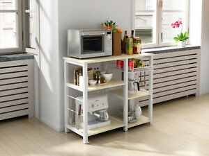 Ordinaire Image Is Loading 3 Tier 35 034 Microwave Stand Storage Kitchen