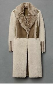 Details about All Saints shearling Coat Sold Out Size 8uk 36 Eu RRP 1200£