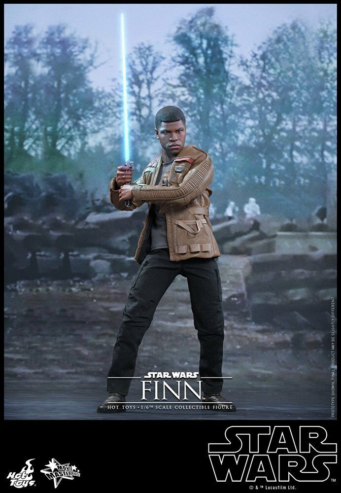 1/6 Sixth Scale Star Wars The Force Awakens Finn MMS Hot Toys