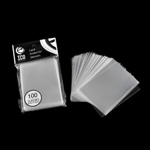 100pcs-pack-Card-Sleeve-Cards-Protector-Magic-Card-Transparent-Unsealed-Game