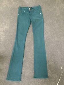 Hudson Baby Boot Jeans 26w Teal 34l Beth Womes wZq4a