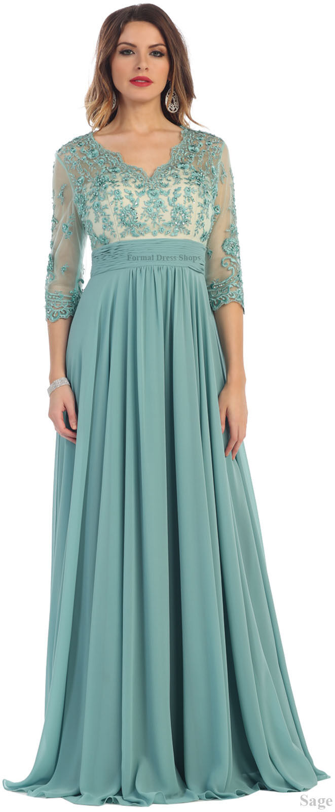 Details about NEW FORMAL EVENING LONG GOWN MOTHER of THE BRIDE GROOM DRESS CHURCH & PLUS SIZE