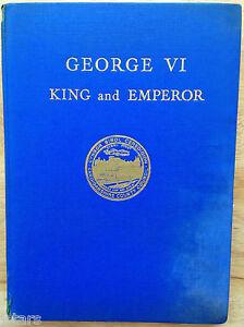 1937 KING GEORGE VI CORONATION BOOK, CARDIGANSHIRE SCHOOL EDITION, ABERAYRON