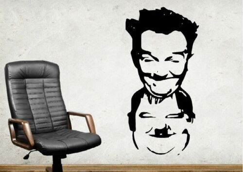Thick and Doff Laurel Hardy Wall Tattoo Wallpaper Wall Decoration 56 CM WALL PICTURE