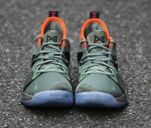ff451fb1d11e Nike PG 2 Palmdale All Star Size 6Y GS Kids Paul George Green 943817 ...