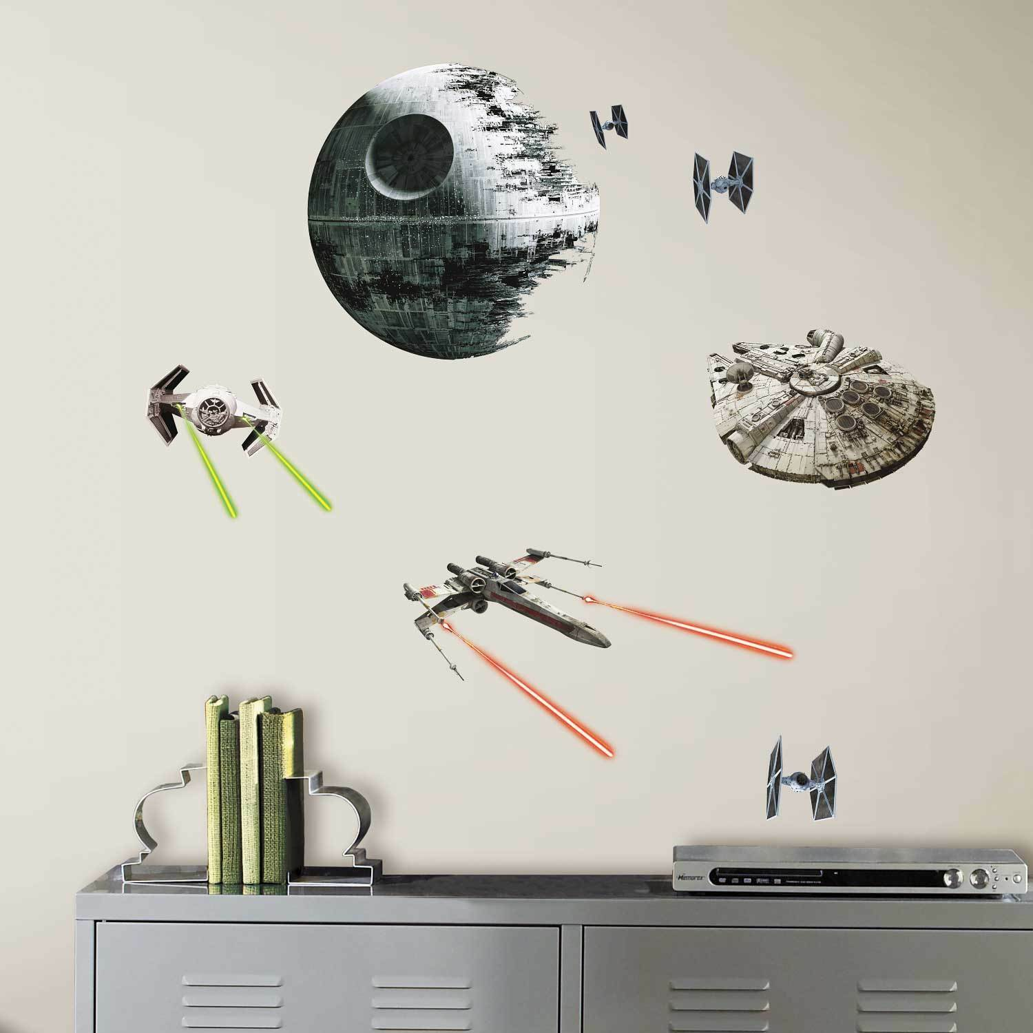 Star Wars Wandsticker S-l1600