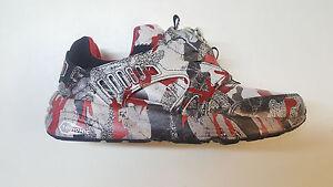 e162fbb0819259 Puma Disc Blaze Camo X Trapstar London Red Black Mens Shoes 361647 ...