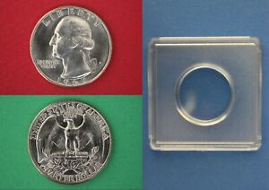 1984 P George Washington Quarter Brilliant Uncirculated Combined Shipping