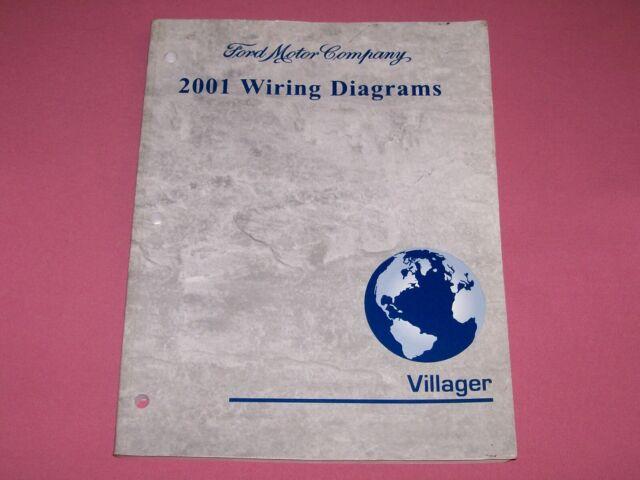 2001 Mercury Villager Factory Wiring Diagrams Manual