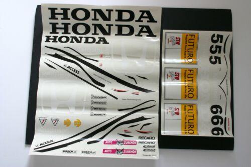 Sticker Sheet FG Technokit 1//5 Touring Car Decal Honda Accord Tarquini