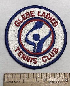 Glebe Ladies Tennis Club GLTC Arlington VA DC Club Souvenir Embroidered Patch
