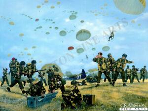 military-art-print-Battle-Arnhem-Operation-Market-Garden-1st-Parachute-Brigade
