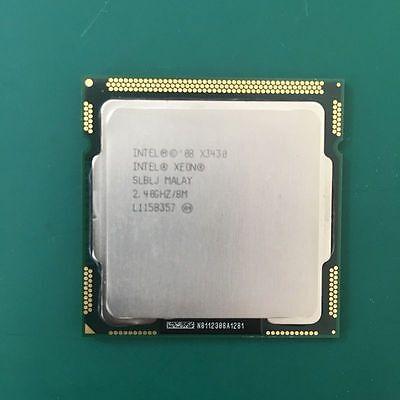 Intel Xeon X3430 2.4GHz//6MB Quad-Core CPU LGA1156 SLBLJ Processor