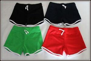 Filles-amp-Garcons-Court-Sur-Genou-Sport-School-Shorts-Pantalon-Active-1-14-ans-PE-Gym