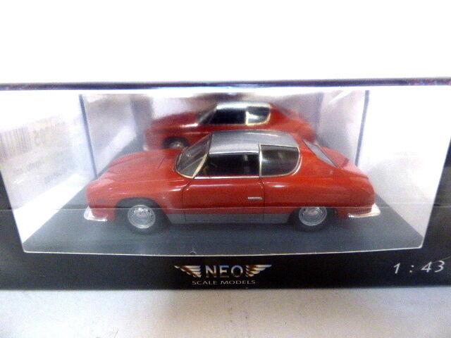 NEO Lancia Flavia Sport Zagato 1965 (Red)