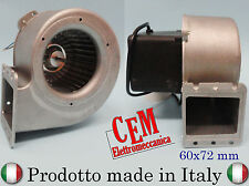 VENTILATORE CENTRIFUGO MOTORE PER CALDAIE A SANSA 230 volt 80 - 85 watt italiano