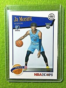 JA-MORANT-ROOKIE-CARD-JERSEY-12-GRIZZLIES-RC-2019-20-Panini-Hoops-Basketball-rc