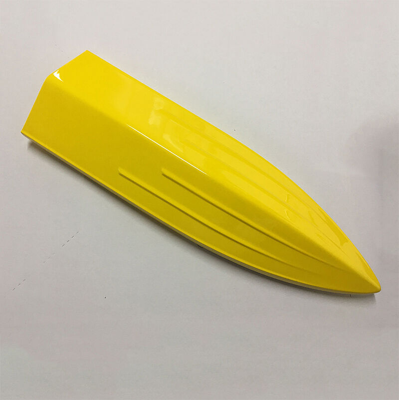 E25 Prepainted giallo Electric Racing KIT RC Boat Hull Hull Hull Only for Advanced Player ef9d8e