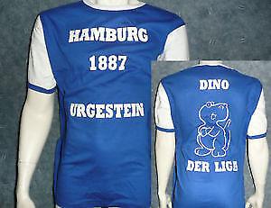 """Fun SHIRT Amburgo Club Maglia /""""miliare/"""" Calcio Regalo Compleanno Nuovo WOW"""