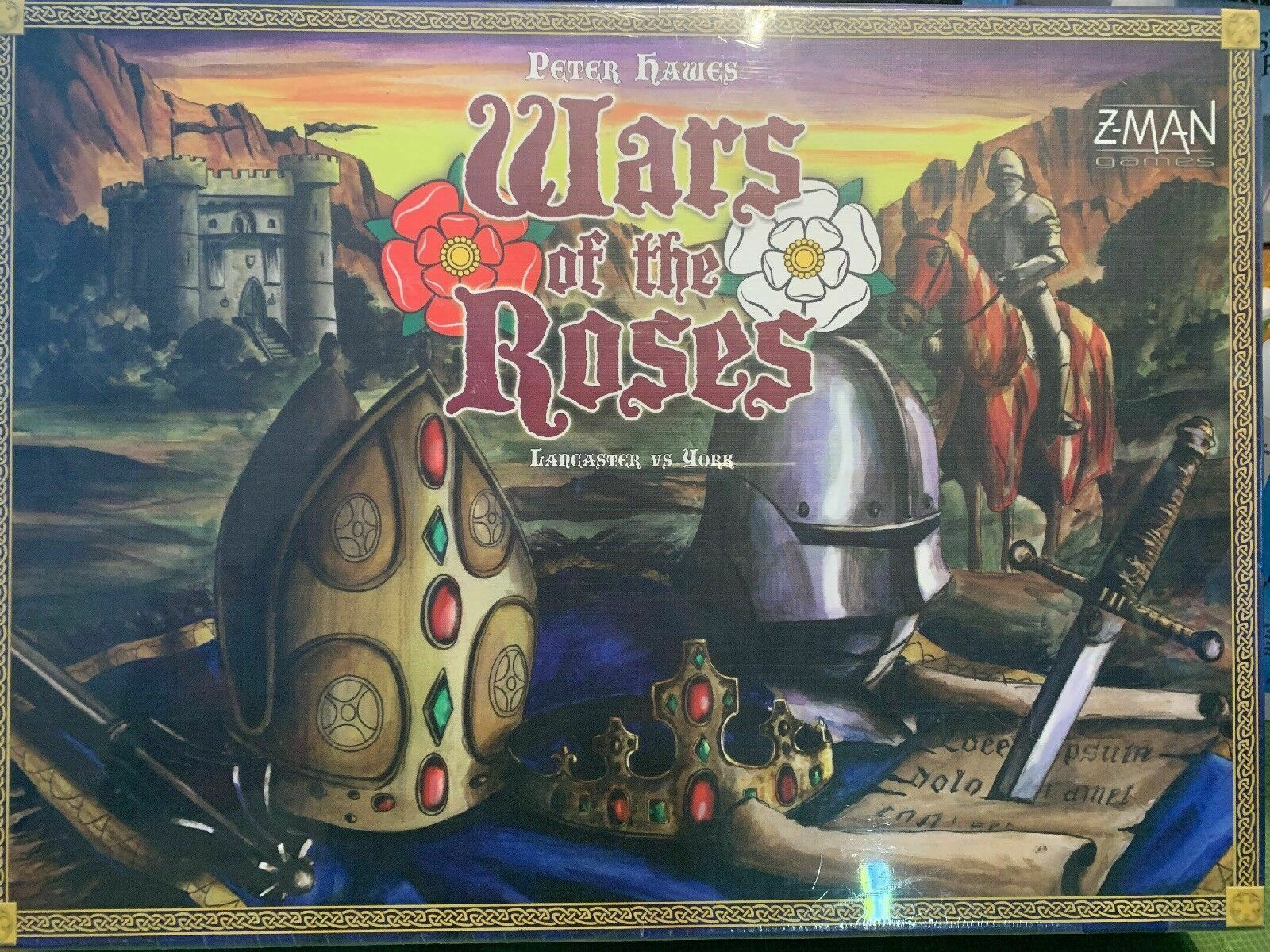 War of the Roses (Lancasters VS York) Board Game - NEW SEALED