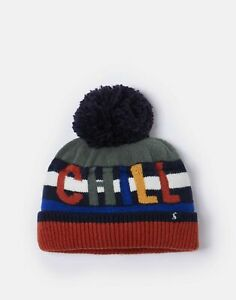 Joules-Boys-Eastbury-Knitted-Hat-Multi-Chill-Out