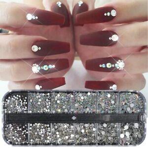 3d glitter crystal rhinestone glass diamond gems jewelry