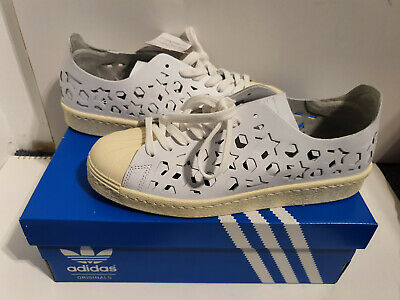 adidas Superstar 80's Cut Out Damen Sneaker Weiß: