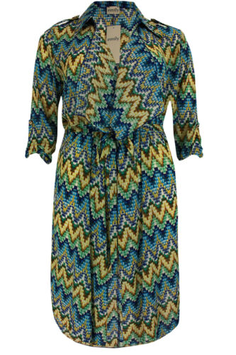 New Simply Be Emily Beach Cover Up Kimono Duster Coat Plus Size 16-26