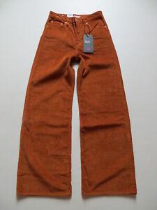 Levi-039-s-Marlene-Cord-Jeans-Hose-W-29-L-32-NEU-Breitcord-Wide-Leg-Schlaghose