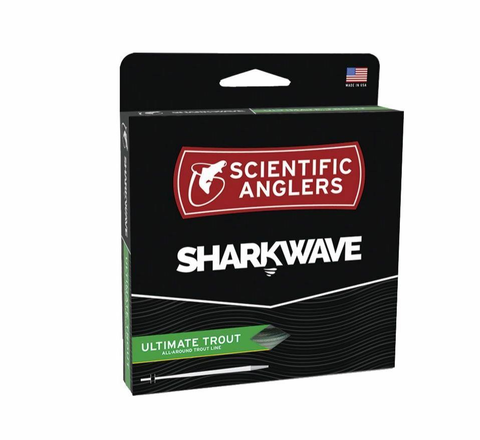 Sharkwave ULTIMATE TROUT WF-6-F  NEW  Dk Willow Willow Mist Green   CLOSEOUT