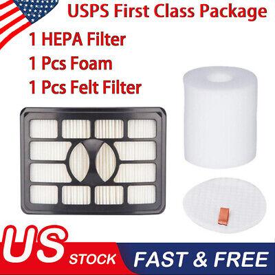 10 Filters for Shark XFH500 HEPA for Shark NV500 NV503 Rotator Pro Lift-Away NEW